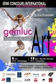 Affiche GEMLUC ART Monaco 2013