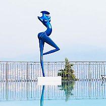 Grande Danseuse, composite carbone, 300cm
